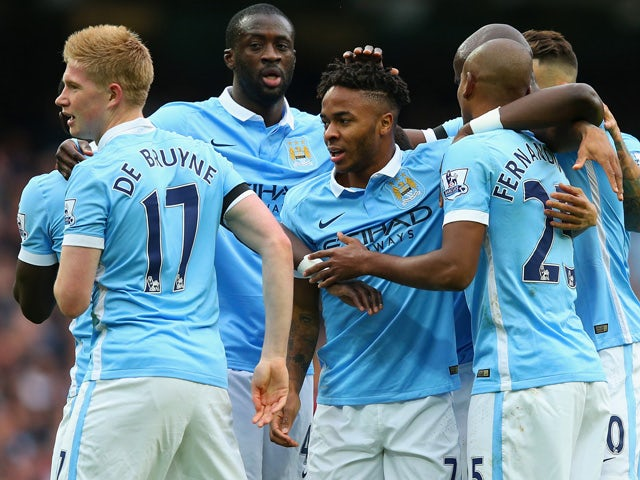 Result: Raheem Sterling hat-trick keeps Man City top