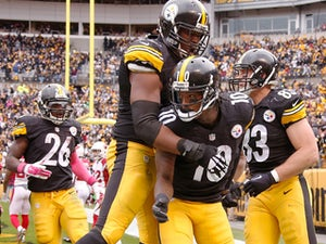 Half-Time Report: Williams's two TDs puts Steelers in front