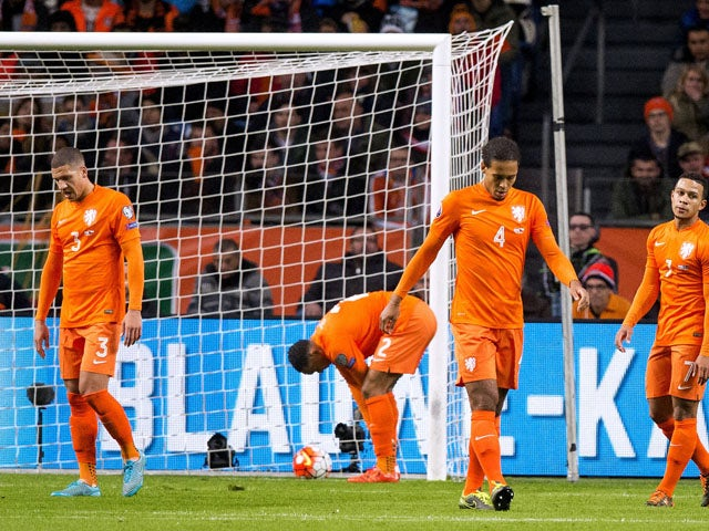Result: Netherlands fail to qualify for Euro 2016