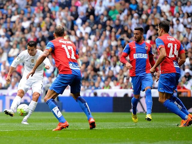 Result: Real Madrid put three past Levante