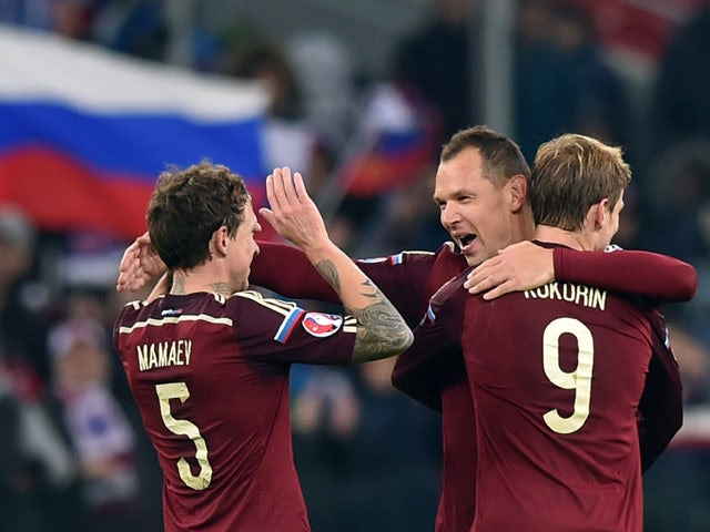 Result: Russia confirm place at Euro 2016