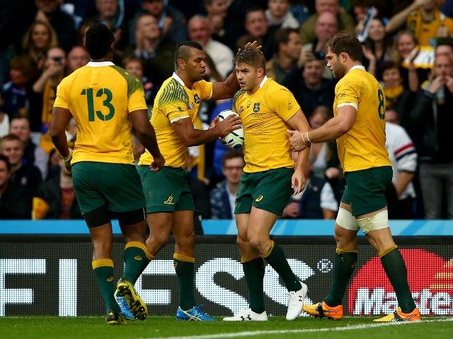 Result: Australia sink Scotland late in thriller