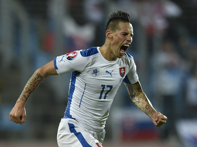 Result: Slovakia book Euro 2016 spot