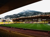 A general view inside the ground prior to the UEFA Champions League quarter-final second leg match between AS Monaco FC and Juventus at Stade Louis II on April 22, 2015 in Monaco, Monaco.