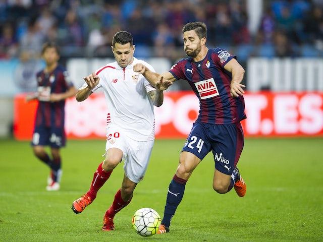Result: Sevilla fight back to draw at Eibar