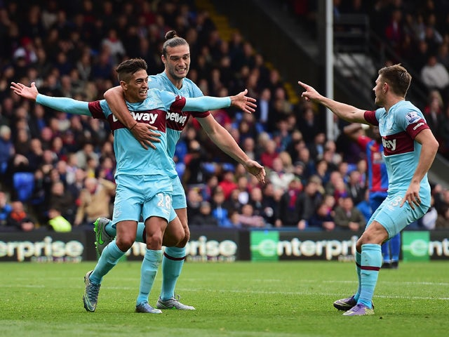 Result: Lanzini, Payet score late goals to win