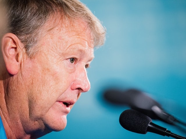 Malmo's Norwegian head coach Age Hareide attends a press conference at the Swedbank Stadion, on October 20, 2015, on the eve of the UEFA Champions League Group A football match between Malmo FF and FC Shakhtar Donetsk.