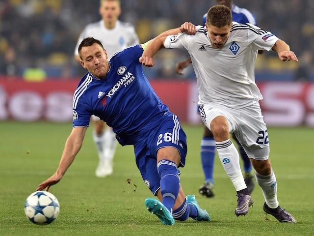 Result: Chelsea held by stubborn Dynamo Kiev