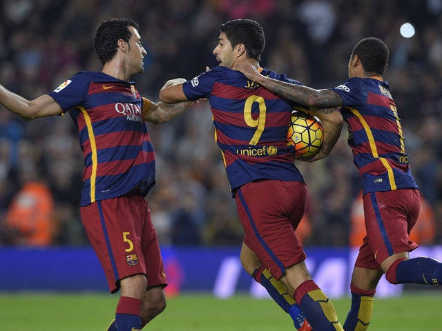 Result: Barca win thanks to three-goal Suarez