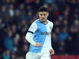 Ben Marshall of Blackburn Rovers during the Sky Bet Championship match between Blackburn Rovers and Middlesbrough at Ewood Park on December 28, 2014