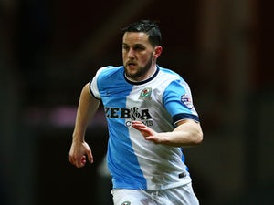 Craig Conway of Blackburn Rovers in action during the Sky Bet Championship match between Blackburn Rovers and Norwich City at Ewood Park on February 24, 2015