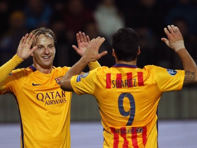 Result: Rakitic brace fires Barca to victory