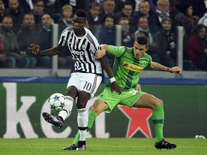 Juventus held by Borussia Monchengladbach