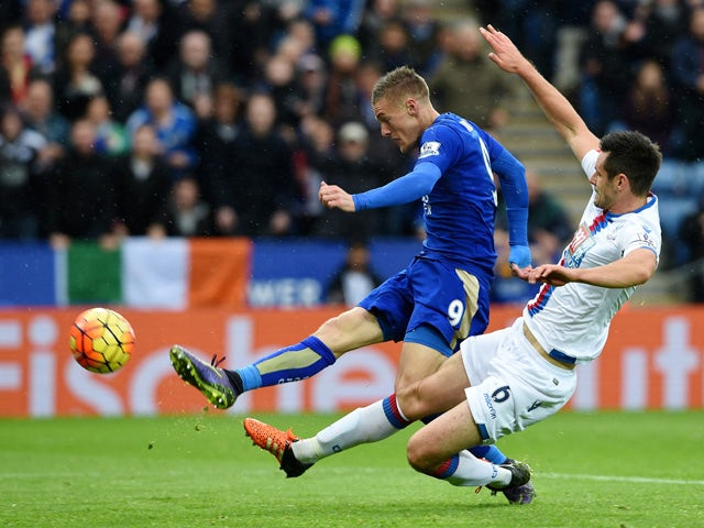 Result: Vardy fires Leicester to Palace win