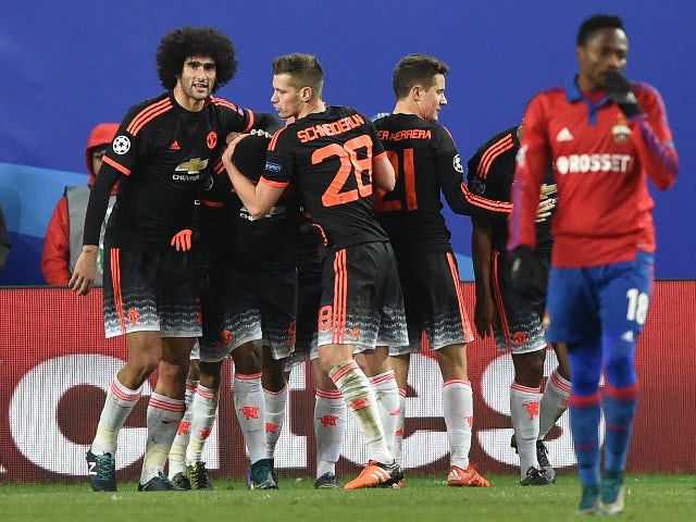 Result: Martial earns Man United battling point in Moscow
