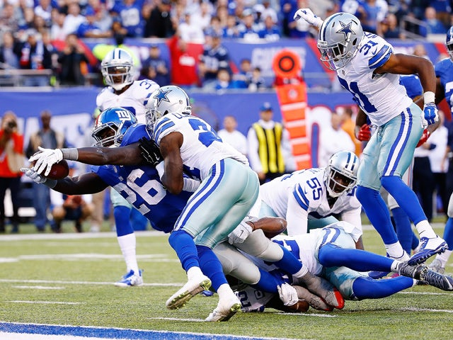 Result: Giants defense sets up win over Cowboys