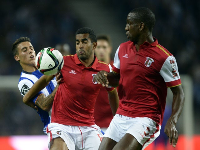 Result: Braga hold on to claim point at Porto