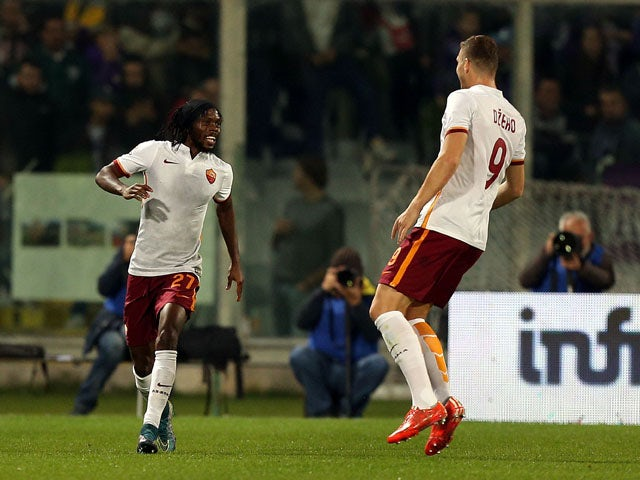 Result: Roma replace Fiorentina at top of Serie A