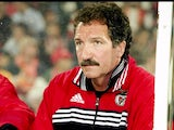 Portrait of Benfica coach Graeme Souness in the dugout during the UEFA Champions League match against PSV Eindhoven at the Estadio da Luz in Lisbon, Portugal. Benfica won 2-1.