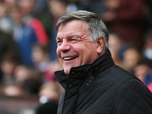 Sam Allardyce, manager of Sunderland looks on prior to the Barclays Premier League match between Sunderland and Newcastle United at Stadium of Light on October 25, 2015 in Sunderland, England.