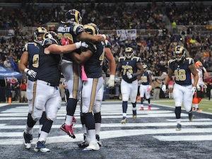 Half-Time Report: Rams leading struggling Ravens