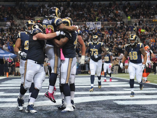 Result: Gurley guides Rams to victory over Browns