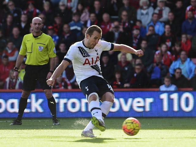 Result: Hat-trick hero Kane sinks Bournemouth