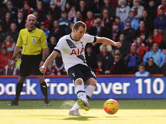 Result: Hat-trick hero Kane sinks Bournemouth