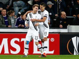 Spurs pegged back by Anderlecht