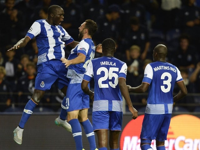 Result: Porto extend Group G lead with victory