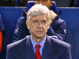 Arsene Wenger the manager of Arsenal looks on during the Capital One Cup fourth round match between Sheffield Wednesday and Arsenal at Hillsborough Stadium on October 27, 2015 in Sheffield, England.