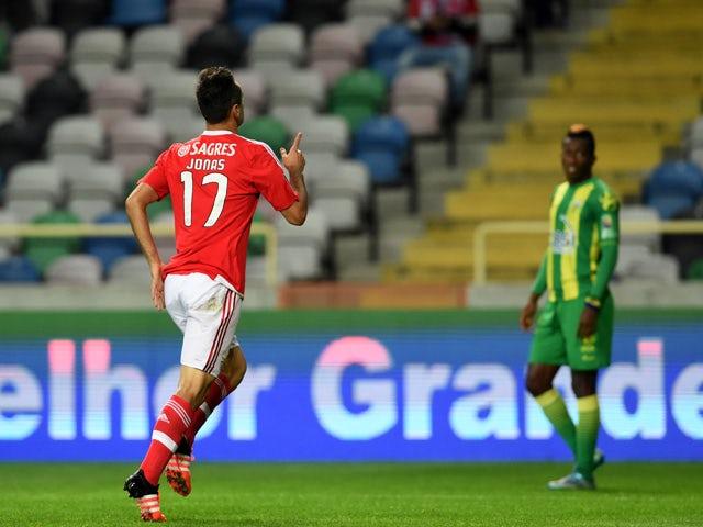 Result: Benfica put four past Tondela
