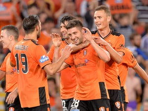 Brisbane ease past Adelaide in A-League