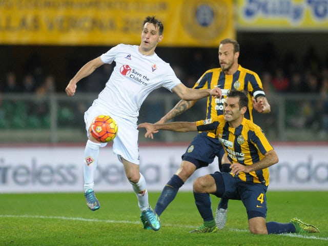 Result: Fiorentina put two past Hellas Verona