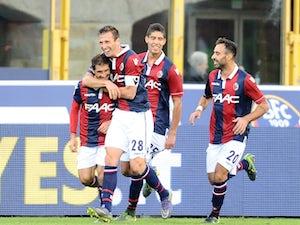 Roma trailing at Bologna to Masina strike
