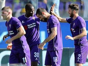 Fiorentina cruise to win over Frosinone