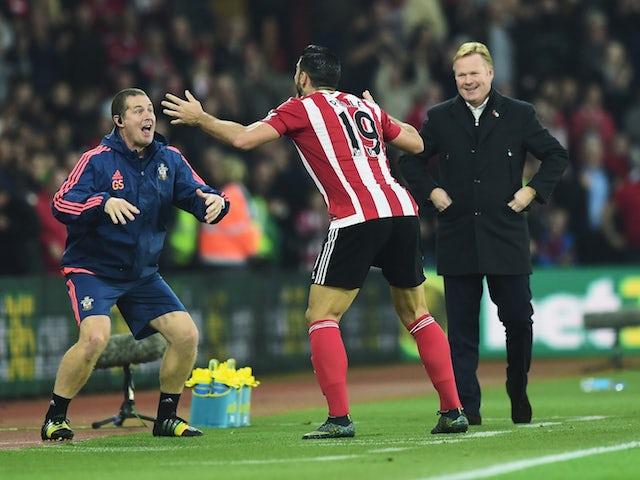 Result: Ten-man Saints overcome Bournemouth