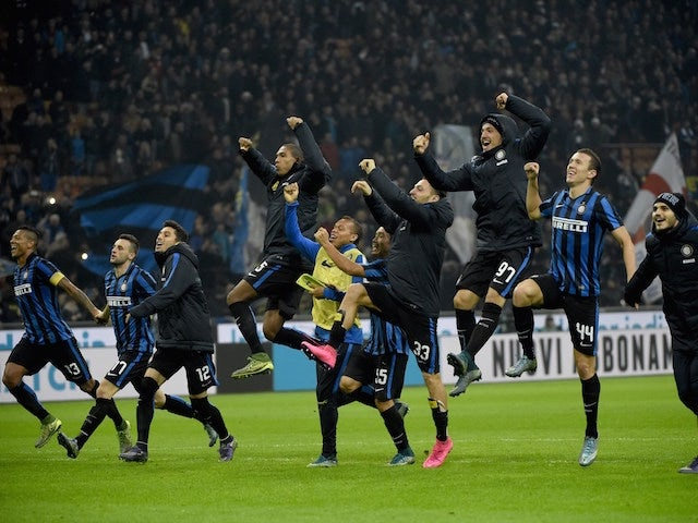 Result: Inter beat Roma to reach Serie A summit