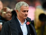 Jose Mourinho the manager of Chelsea looks on during the Capital One Cup fourth round match between Stoke City and Chelsea at the Britannia Stadium on October 27, 2015 in Stoke on Trent, England.