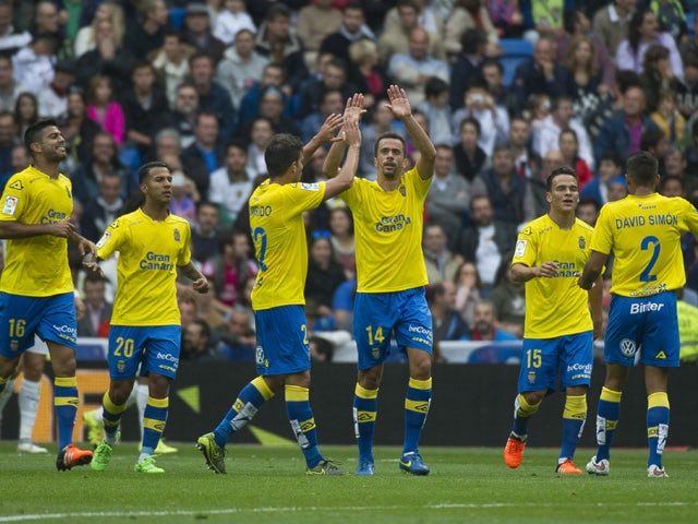 Result: Valencia held by Las Palmas