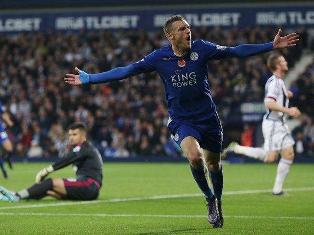 Result: Mahrez, Vardy fire Leicester into third