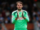 Fulham goalkeeper Marcus Bettinelli during the Championship match against Cardiff City on August 30, 2014