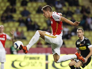Monaco beat Angers to close gap on top three