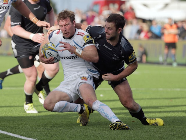 Result: Exeter Chiefs thrash Newcastle Falcons