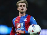 Patrick Bamford in action for Crystal Palace in the League Cup on October 28, 2015