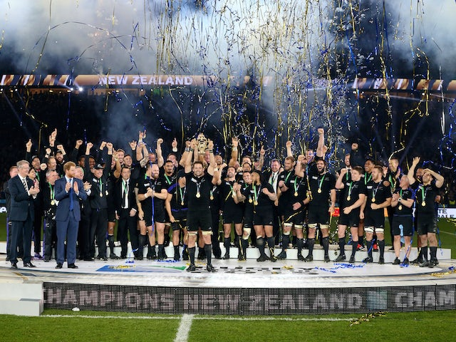 Result: New Zealand win Rugby World Cup