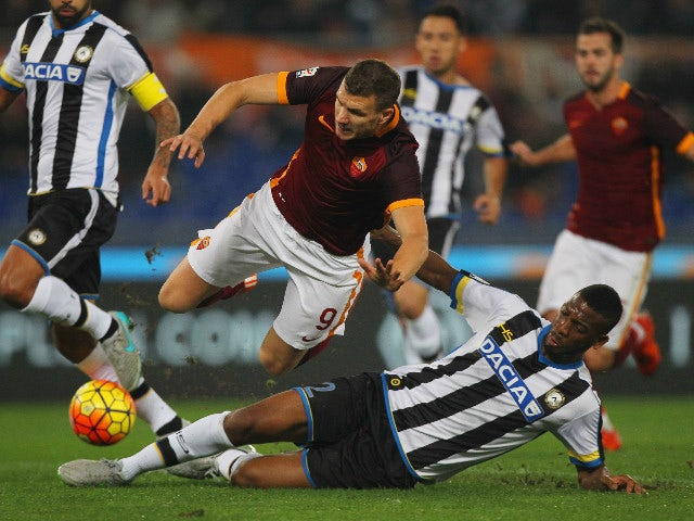 Result: Roma crush Udinese to go clear at the top