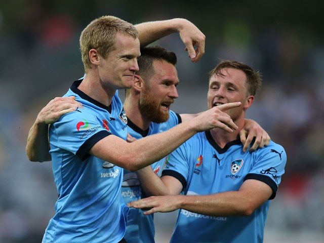 Result: Late Simon brace fires Sydney to victory