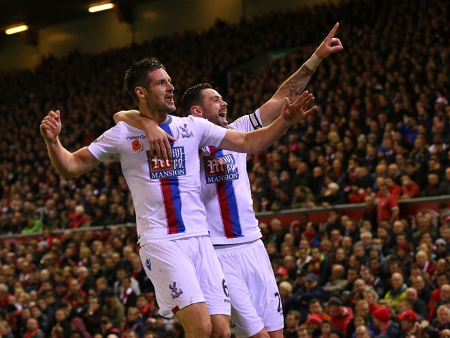 Result: Liverpool succumb to Palace defeat