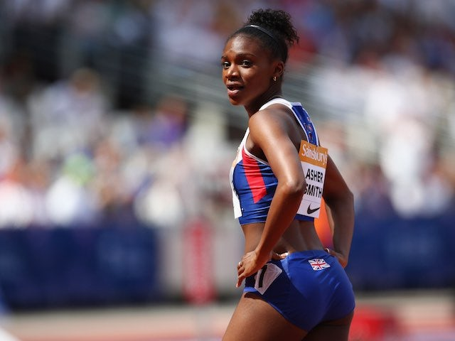 Dina Asher-Smith pictured at the Anniversary Games on July 25, 2015